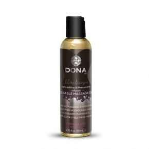 Dona Kissable Chocolate Mousse ízes masszázsolaj 110 ml