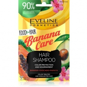 Eveline Cosmetics Food for hair banana care hajsampon 20ml