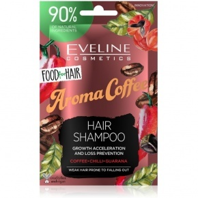 Eveline Cosmetics Food for hair aroma cofee hajsampon 20ml