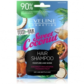 Eveline Cosmetics Food for hair sweet coconut hajsampon 20ml