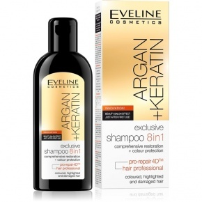 Eveline Cosmetics Argán&keratin sampon 8in1 150ml