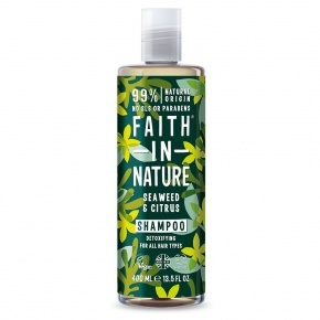 Faith in Nature Sampon - Tengeri hínár és Citrus 400 ml