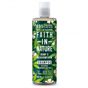Faith in Nature Sampon - Kender és tajtékvirág 400 ml