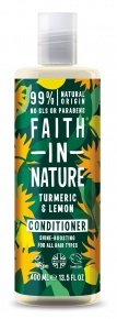 Faith in Nature Kondicionáló - Kurkuma és Citrom 400 ml