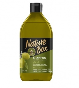 Nature Box sampon Olíva hosszú hajra 385 ml