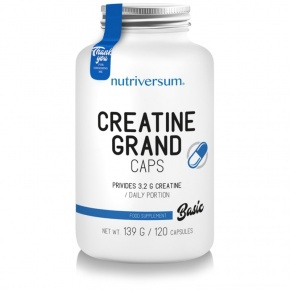 Nutriversum BASIC Creatine Pro Grand 120 kapszula