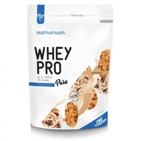 Nutriversum PURE Whey Pro 1000g cookie & cream