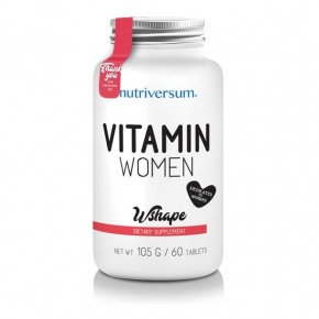 Nutriversum WSHAPE Vitamin Women 60 tabletta