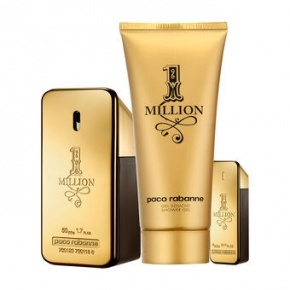 Paco Rabbanne 1 Million edt 50ml + edt10ts + SG100ml